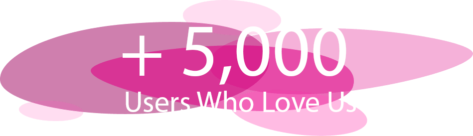 5,000 PLUS Users Who Love Us!
